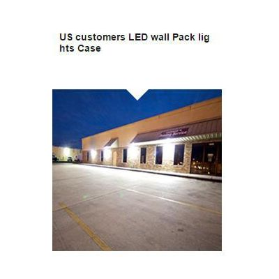 US customers LED wall Pack lights Case